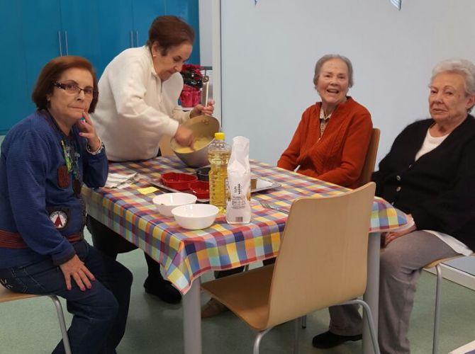 Taller de cocina residencia de ancianos ercilla en el for La cocina taller